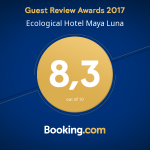 Maya Luna rated on booking.com
