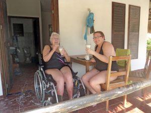 Eco Hotel Restaurant Maya Lun Mahahual Mexico   Bungalow acesible para silla de ruedas