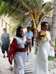Eco Hotel Restaurante Maya Luna Mahahual EcoBoda la novia