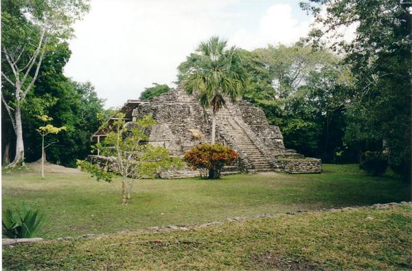 Mahahual Hotel Maya Luna. visita a las Ruinas of Chacchoben