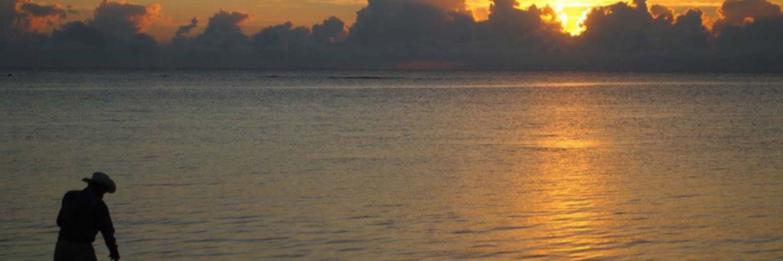 Sunrise at Hotel Maya Luna Mahahual