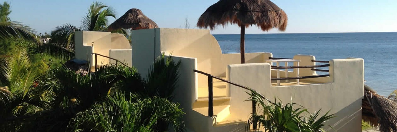 Mahahual Hotel Maya Luna bungalows