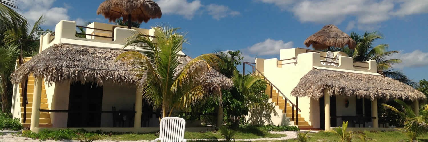 Hotel Maya Luna beachfront bungalows