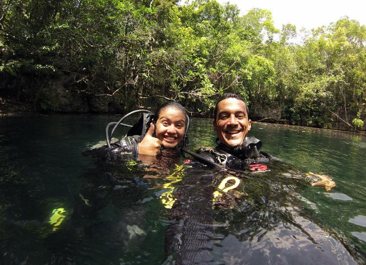 Take a dive course with Dive and Adventures