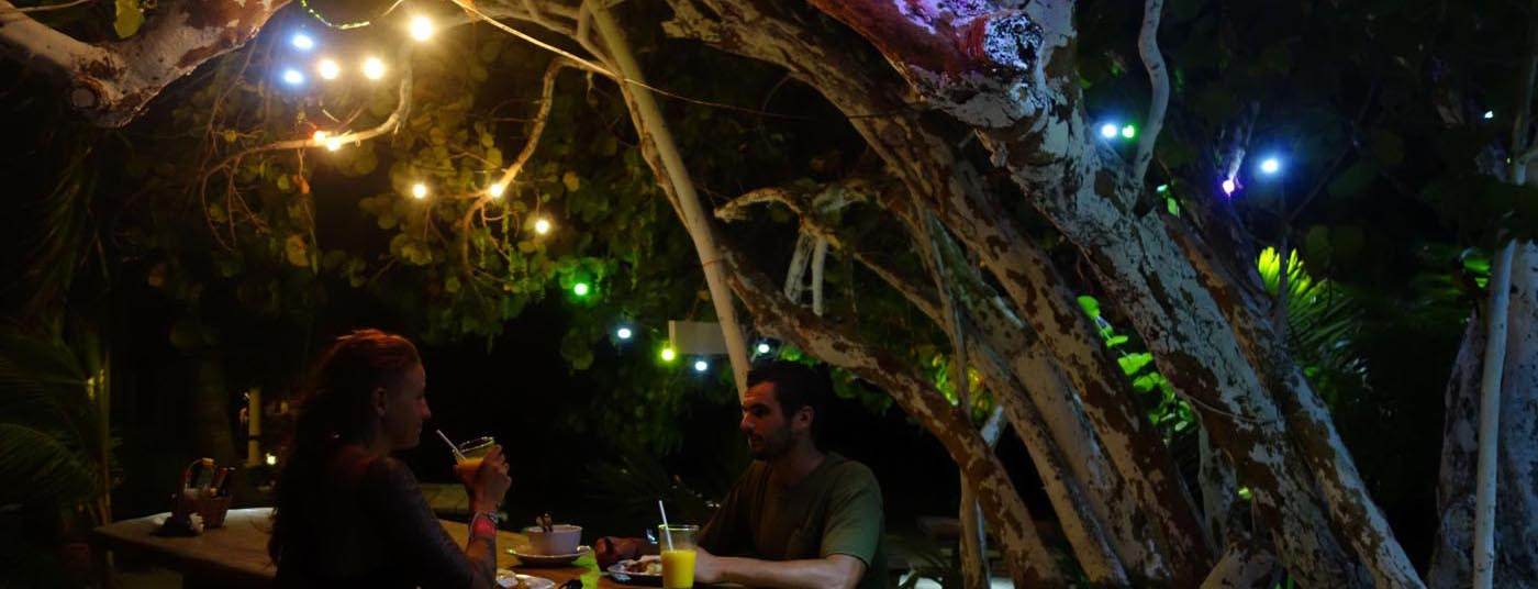 Eco Hotel Restaurant Maya Luna Mahahual Mahahual restaurant garden