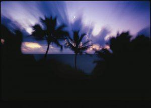 Eco Hotel Restaurant Maya Luna Mahahual. Beautiful sunrise