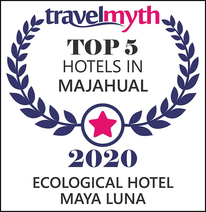 Hotel Maya Luna in the top 5 of best hotels in Mahahual