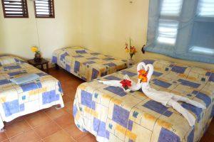 Hotel Maya Luna Mahahual Bungalow Family 3 beds