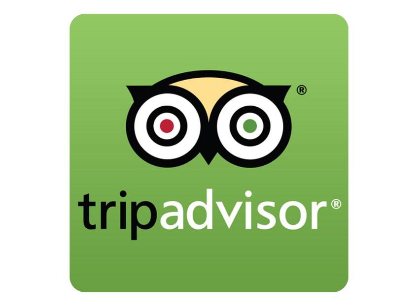 Eco Hotel Restaurant Maya Luna Mahahual. Trip Advisor Logo